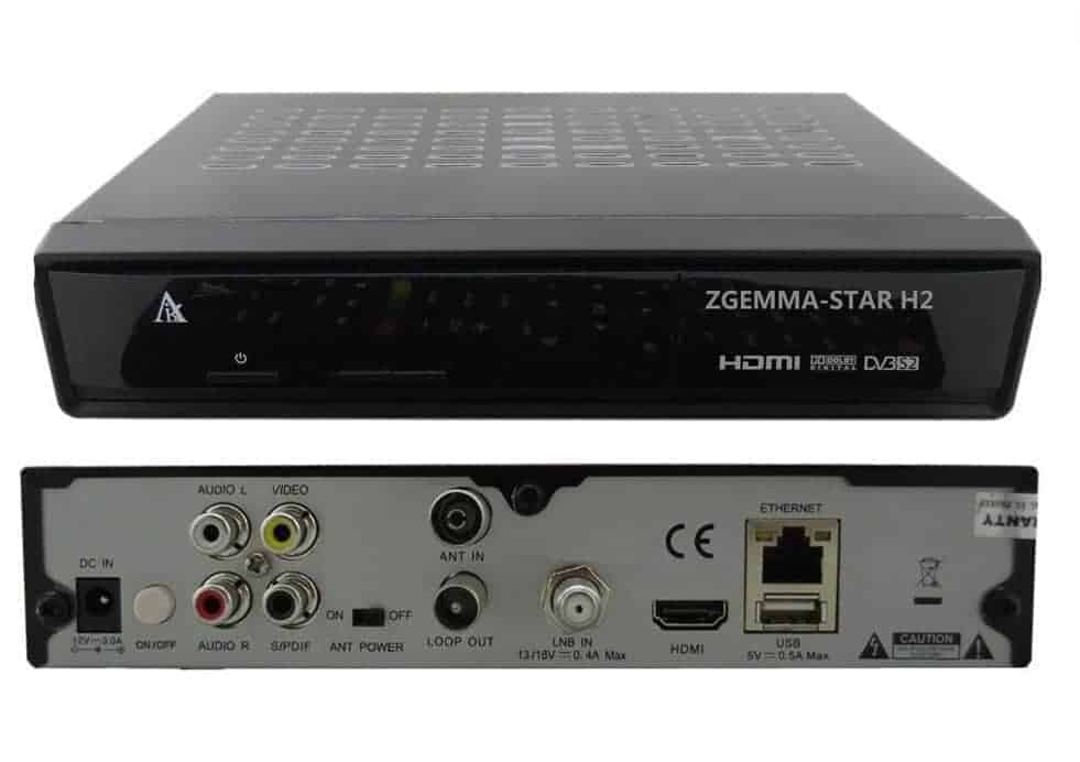 Zgemma Star H2 | Cable and Satellite Tuner