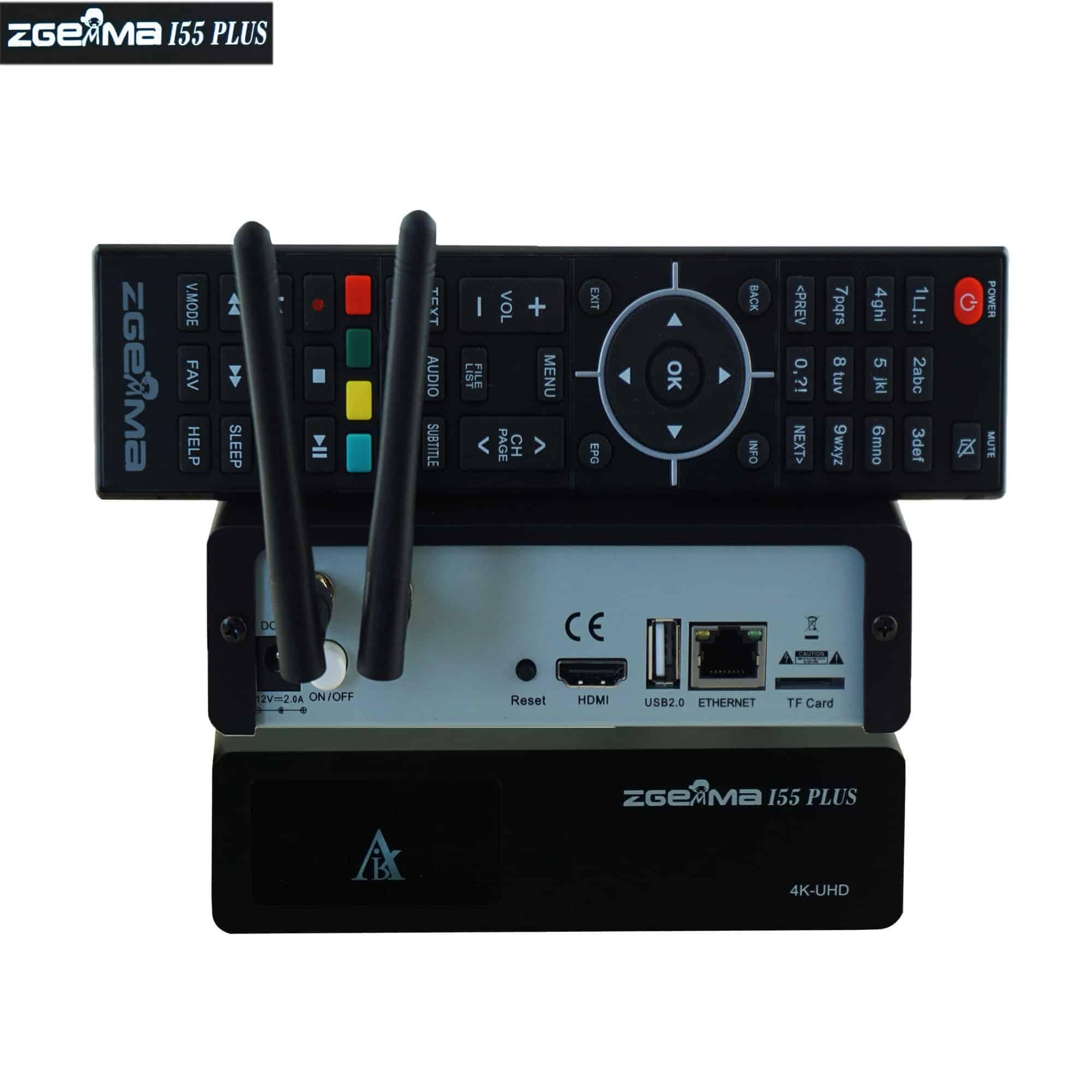 Zgemma i55 Plus IPTV Box   Full HD 1080P, Dual Core Linux OS E2