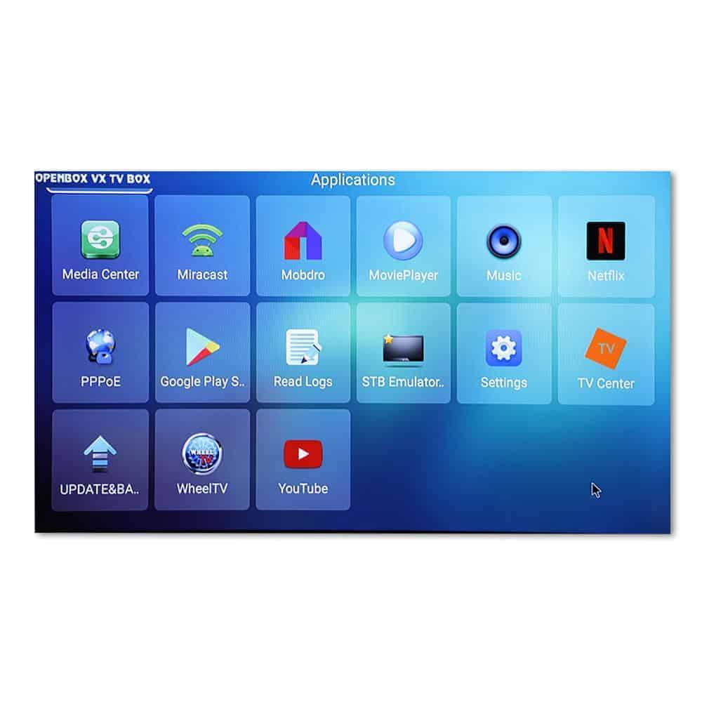 OPENBOX VX IPTV BOX | Android TV Box | *** £25 99 *** 1GB 8GB Quad Core 4K  | Built in WiFi Media Player