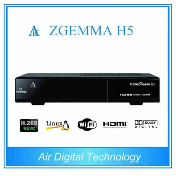 Combo-Receiver-DVB-S2-DVB-T2-C-Zgemma-H5-with-Bcm73625-H-265-HD-Receiver