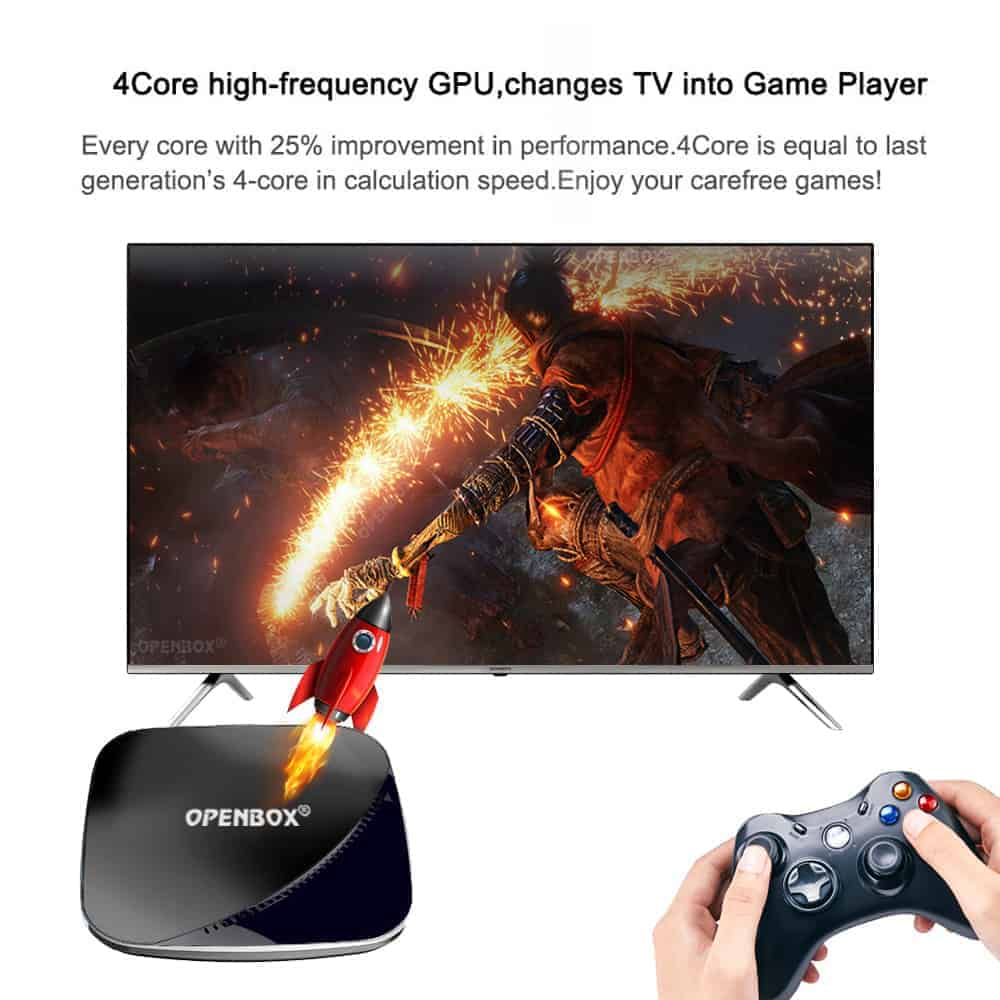 OPENBOX VX PLUS Android 9 0 TV Box | 4GB RAM 32GB Memory | 2 4G & 5GHz  Built in Wifi