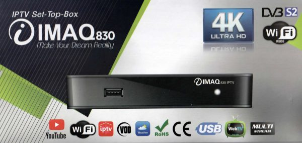 IMAQ830 SATELLITE AND IPTV BOX